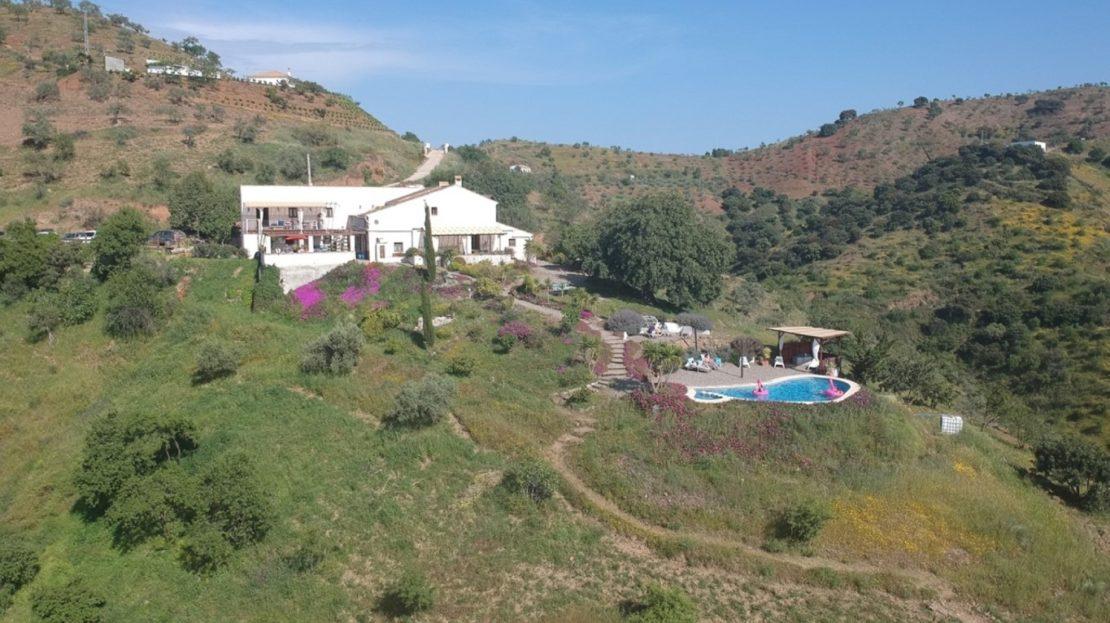 Groepsaccommodatie 17 personen Spanje Andalusië Malaga
